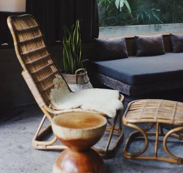 Ratan namještaj i ratan materijal u domu