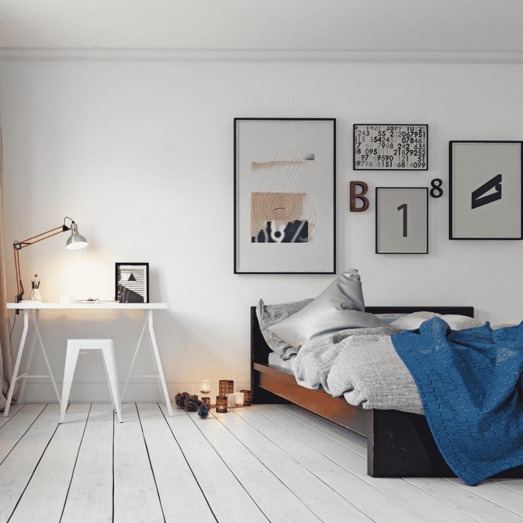 Zidna galerija u spavaćoj sobi