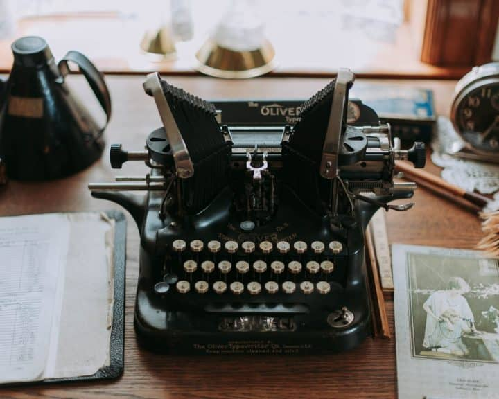 Pisaća mašina: grandmillennial stil