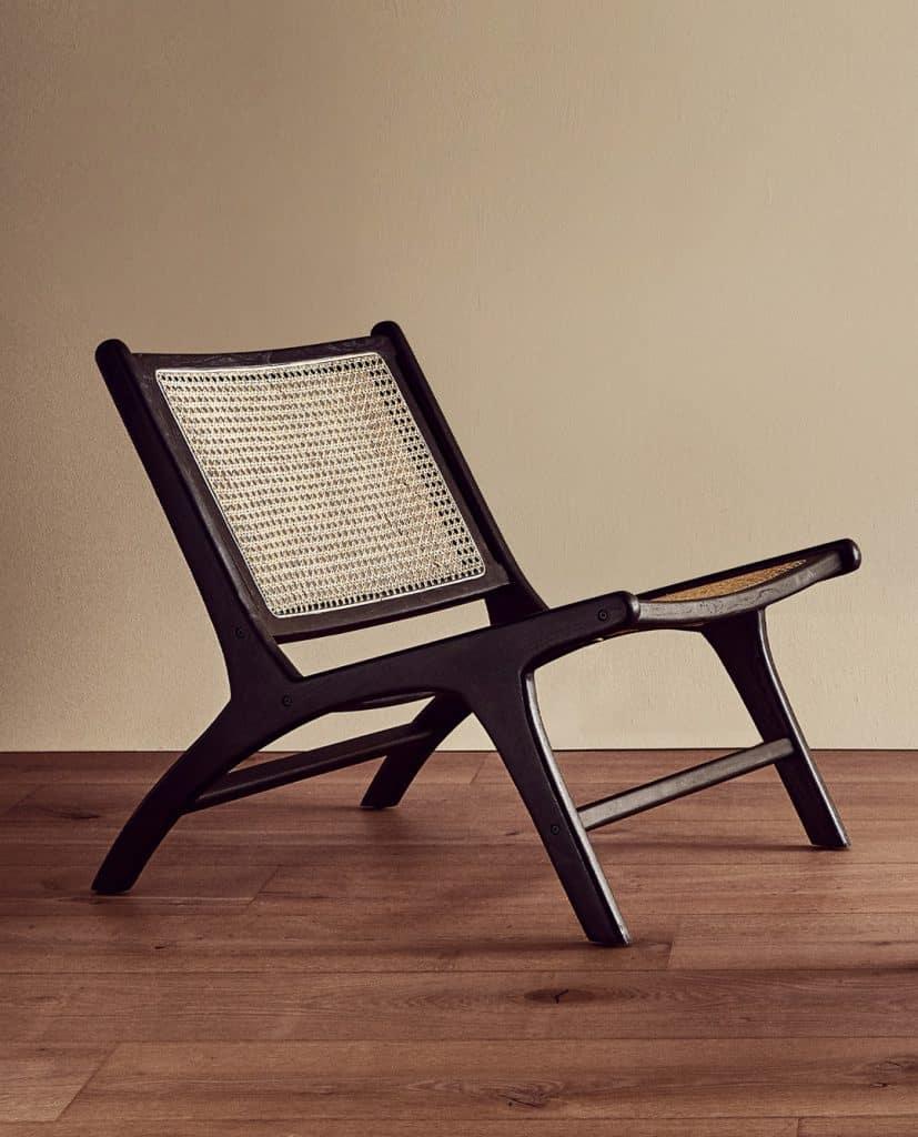 Zara stolac od ratana, cane stolica