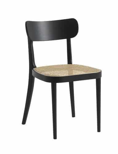 JYSK stolica od drva i ratana, caned stolica