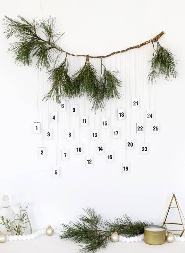 The Merrythought - DIY božićni kalendari Trending.hr